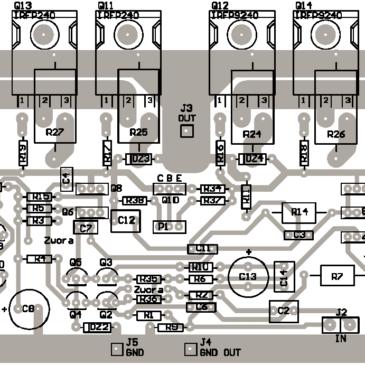 Construcción de un amplificador a Mosfet de 400W